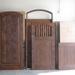 Carved Entry, Gates & Jamb